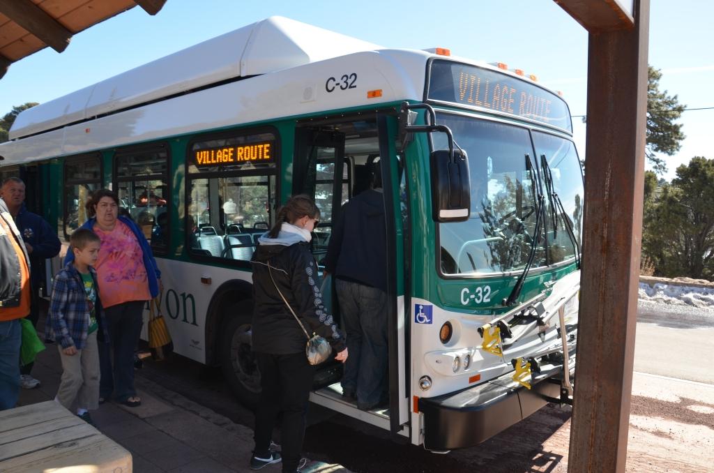 Autobus niebieskiej linii